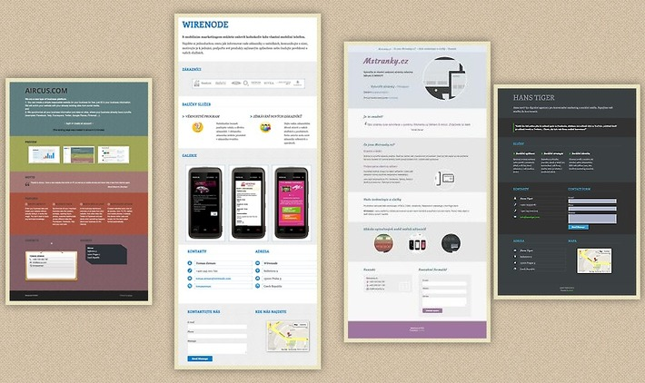 Create Your Free One-Page Responsive Website with Aircus | A Marketing Mix | Scoop.it