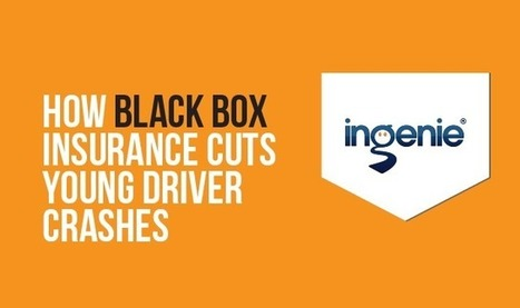 How Blackbox Insurance Cuts Young Driver Crashes #infographic | Top 10 - Black Box Insurance Reviews | Scoop.it