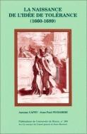 La naissance de l'idée de tolérance, 1660-1689 | Early modern philosophy (mostly natural) | Scoop.it