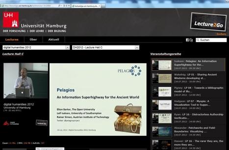 Digital Humanities 2012-University of Hamburg | late antique and byzantine studies | Scoop.it