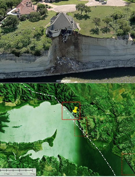 Home clings to collapsing cliff in N. Texas | Conformable Contacts | Scoop.it