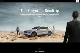 The Forgotten Roadtrip, un récit de voyage interactif présenté par Mercedes | Listen to web | Scoop.it