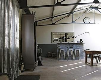 Une id e d co industrielle loft d - Idee deco loft ...
