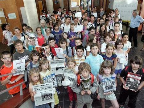 Presse à l'école | Quand le journal naît à l'école - L'Est Républicain | Éducation aux médias | Scoop.it