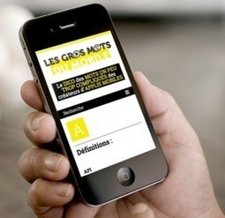 GROS MOTS du mobile : Lexique des applis mobiles - NetPublic » | Machines Pensantes | Scoop.it