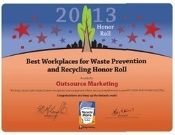 7th Straight Recycling Award for Outsource Marketing | The Responsible Marketing Blog | Waste Management & Technology | Scoop.it