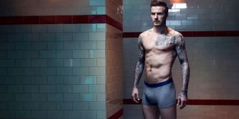David Beckham rimane in mutande! Tatuaggi e fisico in mostra | fashion and runway - sfilate e moda | Scoop.it