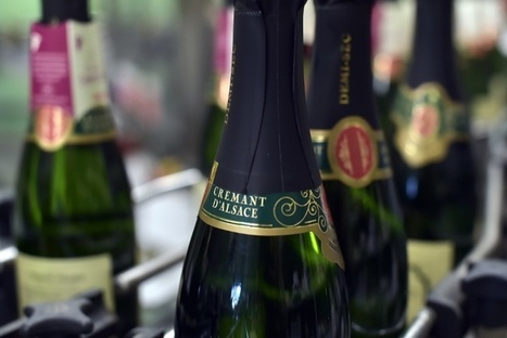 Le crémant d'Alsace, vin pétillant, doit encore s'imposer à l'international | Signes d'Identification de la Qualité et de l'Origine | Scoop.it