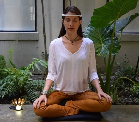Tune your meditation with a metal flower that tracks your brainwaves -- and those of your friends   art   Scoop.it