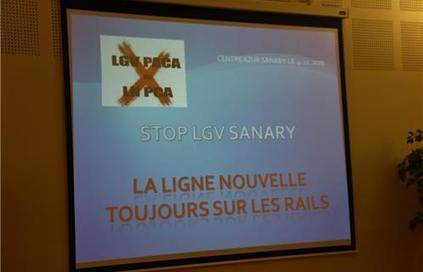 Sanary : La LGV avance contre vents et marées | Stop TGV Coudon et la LGV PACA | Scoop.it