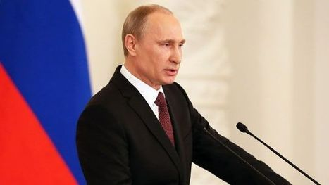 Crimean leaders sign treaty to join Russia, as Putin rips Ukraine's interim leaders, West   Human Geography   Scoop.it