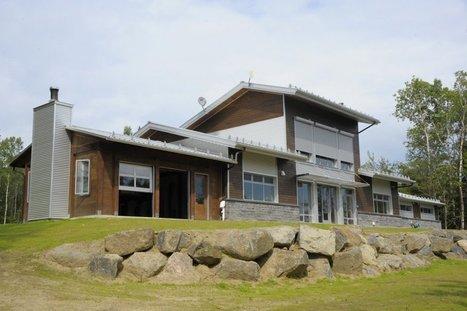 La Maison Kénogami se chauffe avec l'énergie d'un sèche-cheveux | maisons bois | Scoop.it