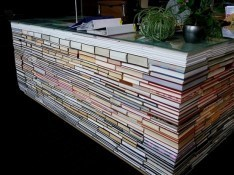 Recycled books make for eco-friendly art - Melville House Books | Creativity in the School Library | Scoop.it