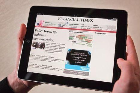 Presse: le numérique prend le relais du papier | DocPresseESJ | Scoop.it
