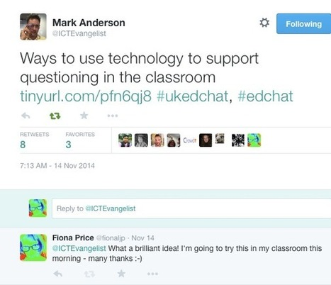 fionaljp: Adding Another Dimension to the Classroom with Digital Conversations   English Language Teaching   Scoop.it