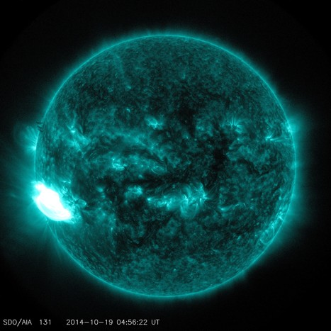 Extreme Ultraviolet Image of a Significant Solar Flare | Astrobiology Magazines | Scoop.it