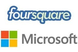 Microsoft investit 15 millions de dollars dans Foursquare | Innovation & Technology | Scoop.it