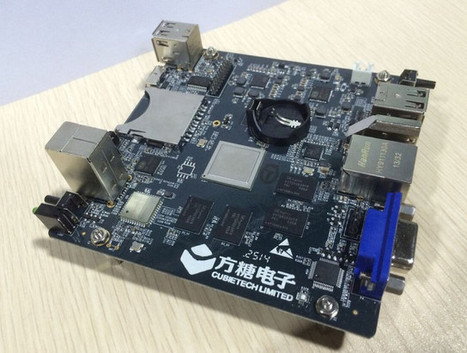 Pictures and Specs for CubieBoard 8 Development Board Powered by AllWinner A80 SoC | Embedded Systems News | Scoop.it