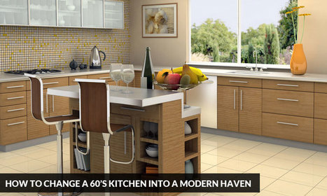 How to Change a 60's Kitchen into a Modern Haven | Kitchen Solvers Franchise | Home Improvement Franchise | Scoop.it