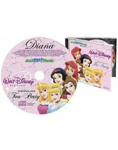 Personalized Disney Princess CD | Personalized Gifts for Kids | Scoop.it
