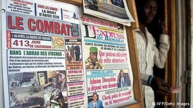 Les journalistes maliens sous pression   Les médias face à leur destin   Scoop.it