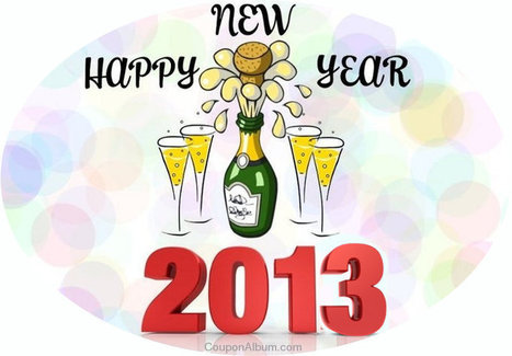 Happy New Year 2013! | Online Shopping Blog | Coupons & Deals | Scoop.it