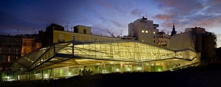21st Century Roof for Molinete Roman Ruins - eVolo | sustainable architecture | Scoop.it