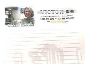 Creative Notepad Designs for Inspiration by Victor Printing ... | Creative Direct Mail | Scoop.it