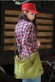 womens military green cross shoulder tote bags | personalized canvas messenger bags and backpack | Scoop.it