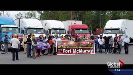 BC Sikh community motors in million-dollar donation for Fort McMurray evacuees | CLOVER ENTERPRISES ''THE ENTERTAINMENT OF CHOICE'' | Scoop.it