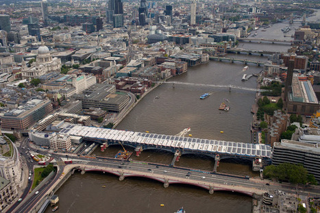 Blackfriars station, the world's largest solar bridge | Geography Education | Scoop.it