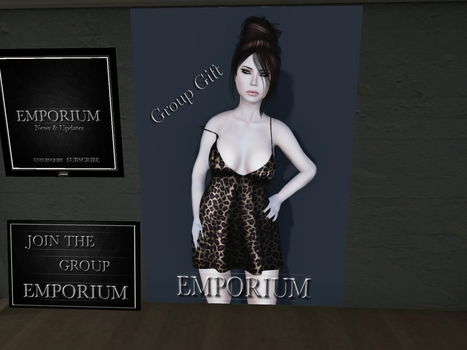 Not sure what it is.. But its free for you girls.. Group Gift | Secondlife Freebies For You | Scoop.it