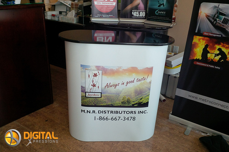 Pop Up Counter Tables – It gives a platform from which to present your brand!! | Print Media And Web Media | Scoop.it