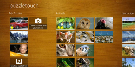 PuzzleTouch for Windows 8 | Windows 8 Apps | Scoop.it
