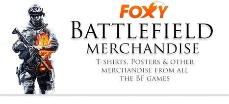 Battlefield Merchandise – BF T-shirts, Posters & other stuff | Gaming merchandise | Scoop.it