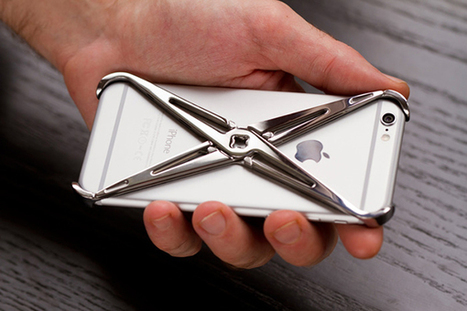 eXo-Skeleton - iPhone Case by Ramak Radmard + Lucidream » Yanko Design | What Surrounds You | Scoop.it