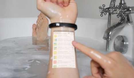 Startup aims to transform your skin into a touchscreen | MarketingHits | Scoop.it