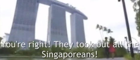 #Singapore #Tourism ad could become the new Downfall of spoof clips [VIDEO] | ALBERTO CORRERA - QUADRI E DIRIGENTI TURISMO IN ITALIA | Scoop.it