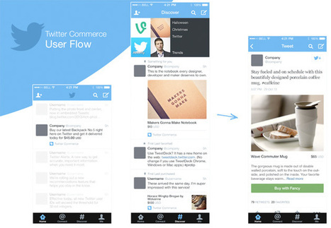 'Twitter Commerce' leak puts a buy button next to retweet and favorite | Future of Retail | Scoop.it