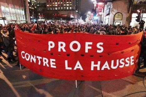 [Québec] Manifeste des profs du monde contre la hausse des droits d'inscription à l'université   Higher Education and academic research   Scoop.it
