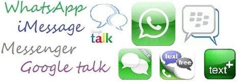 Whatsapp drops mobile network's text revenue   Mobile Application development   Scoop.it