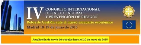 IV Congreso Internacional de Salud Laboral y Prevención de Riesgos   Promotion de la santé au travail   Scoop.it