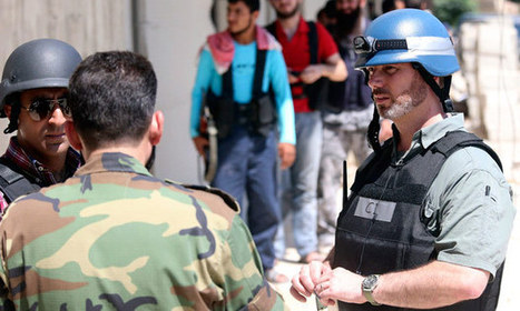 UN orders its inspectors out of Syria in anticipation of strikes   Saif al Islam   Scoop.it