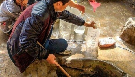 Dozens in central China line up outside 'holy well' said to cure illnesses | World Spirituality and Religion | Scoop.it