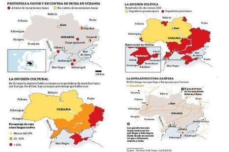 Los mapas que explican el conflicto en Ucrania | Nuevas Geografías | Scoop.it
