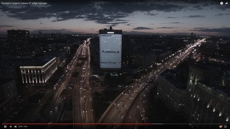 Samsung has a building-size Galaxy S7 Edge billboard in Russia | Innovation at the Crossroads of Tech and Human Action | Scoop.it