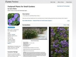 Plants for Small Gardens App Review + Giveaway - Garden Mentors | Annie Haven | Haven Brand | Scoop.it