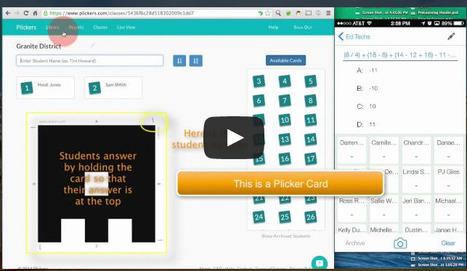 Colecciona respuestas en tiempo real de tus estudiantes, sin que necesiten un dispositivo móvil! | Utilidades TIC para el aula | Scoop.it