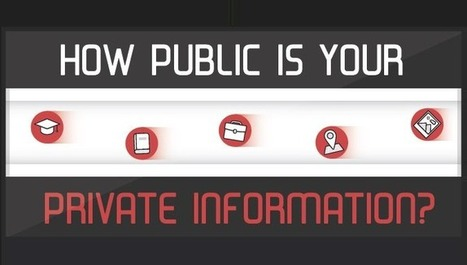 How Public is Your Private Information - Infographic Online | 911branding | Scoop.it