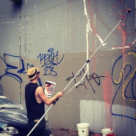Video Mural Update Borondo in Rome | Graffuturism | Rome Turism | Scoop.it